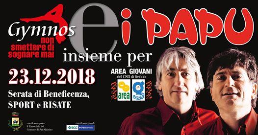 San Quirino PN - Dom 23 Dicembre 2018 @ Palazzetto dello Sport - Via Friuli,6